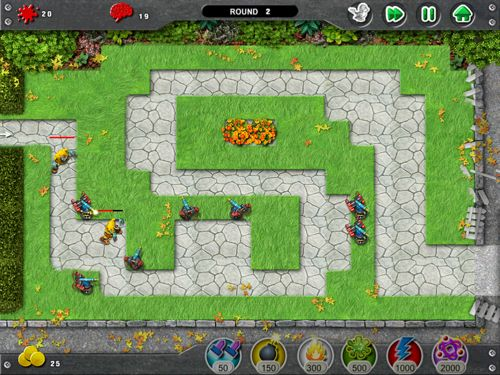 tower defence con twitter per ipad