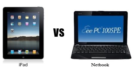 iPad nel mercato netbook