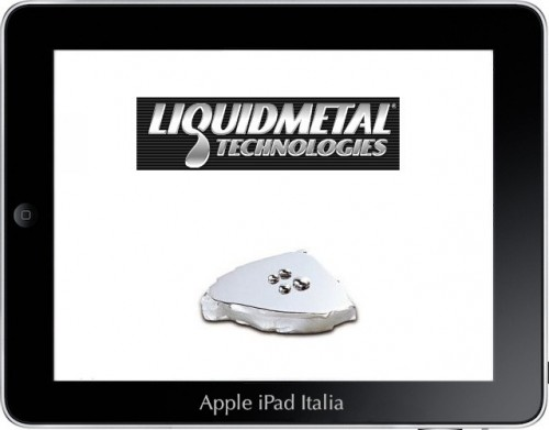 Apple cerca esperti di liquidmetal
