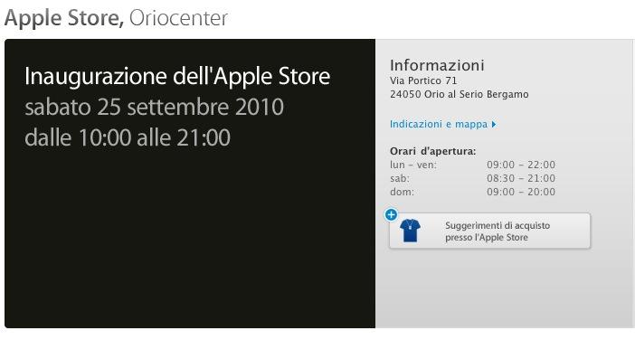 Ecco il quarto apple store italiano a bergamo