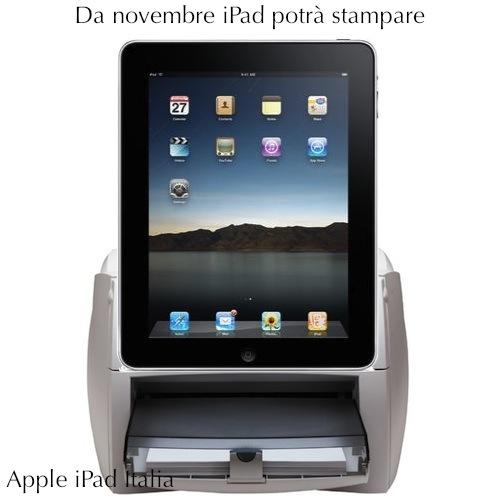 iPad stampa con ios 4.2