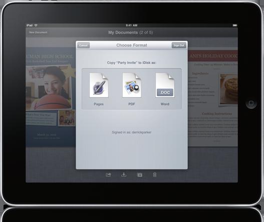 iwork per ipad è compatibile con office