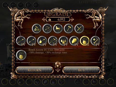 gioco medioevale per ipad
