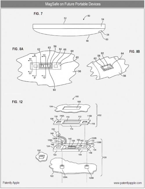 brevetto apple per ios con magsafe