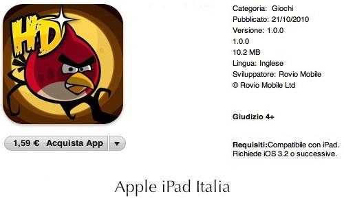 il ritorno dei pennuti su App Store