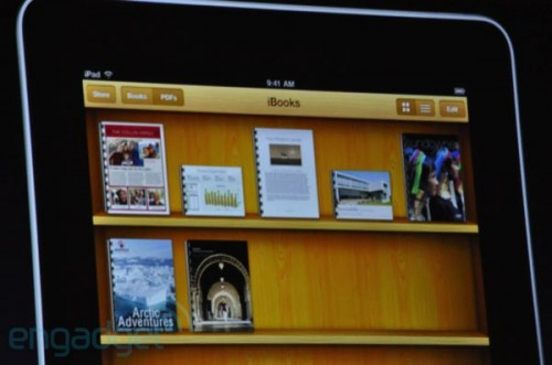 ibooks a cartelle su iPad