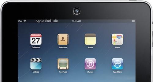 iPad dotato di doppia fotocamera in arrivo