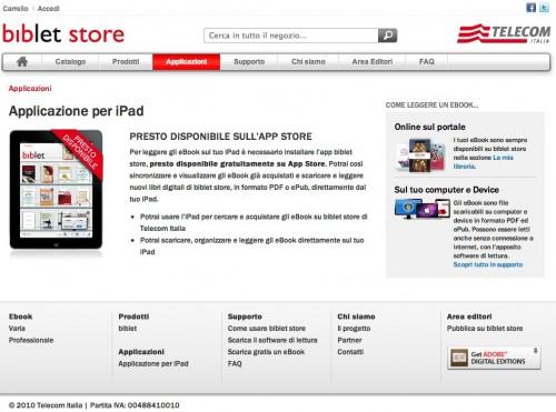 come comprare ebook per ipad