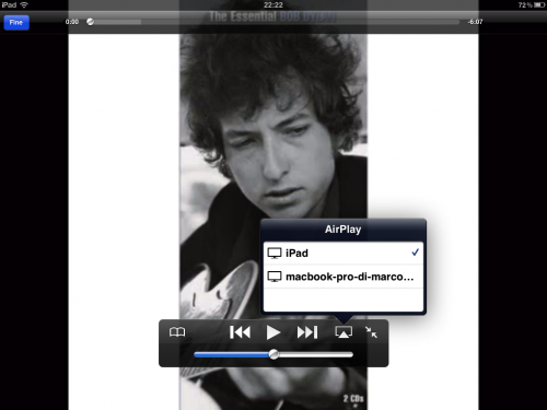 AirPlayer per Mac per Air play