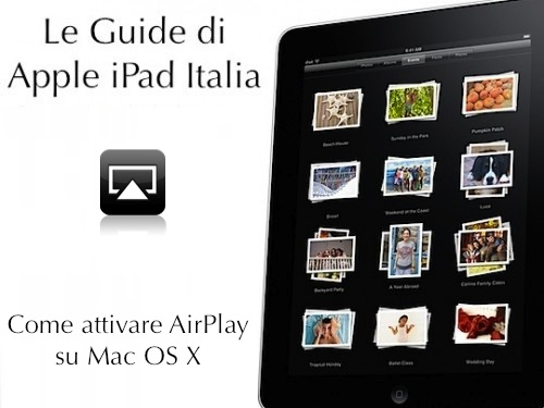 AirPlay su mac grazie ad AirPlayer