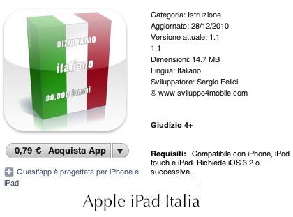 Applicazione per iPad