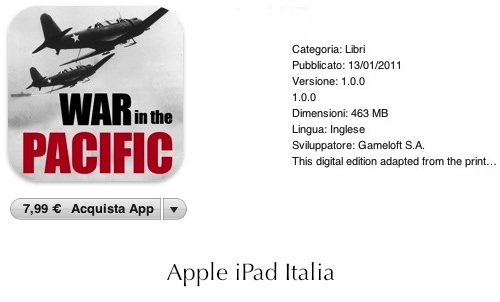 seconda guerra mondiale ipad
