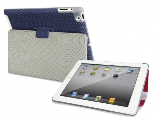 Custodia in ecopelle per iPad 2